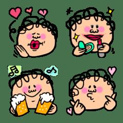 かわいいobaozi絵文字