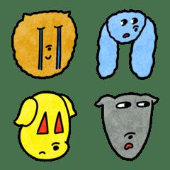 チルチッタの犬たち絵文字