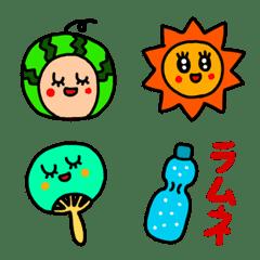 riekimの夏の絵文字