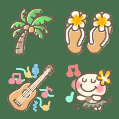 ハワイアン絵文字