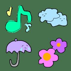カラフル系絵文字