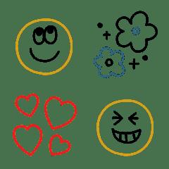 大人シンプル✨使いやすい基本絵文字
