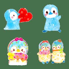 絵本の世界のペンギンたち