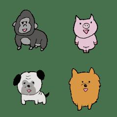 ミニ動物emoji