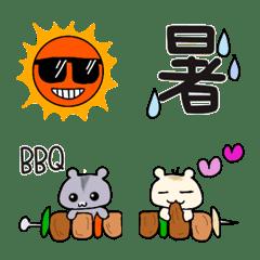 夏に使えるシンプル絵文字