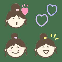 ◇おだんごな女の子◇