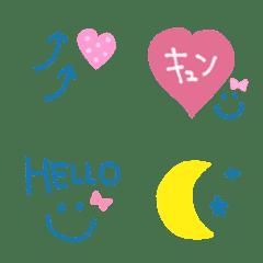 【シンプルcute♡使える絵文字】