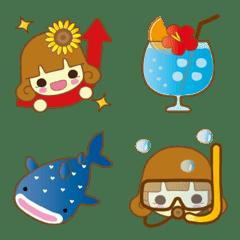 ひまわりガール★夏の想い出(バカンス編)