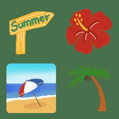 夏向き絵文字