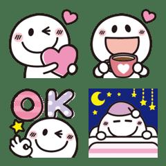 大人可愛い♡シンプルな絵文字10