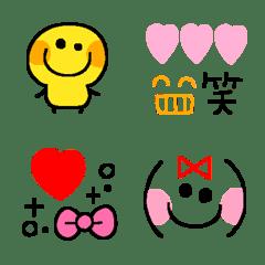 懐かしデコ♡絵文字