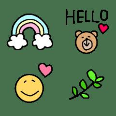 【毎日cute♡♡使える絵文字】