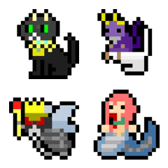 ドット絵 ピクセルファンタジー2