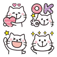 大人可愛い♡ネコの絵文字11