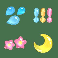 キラキラ☆宝石絵文字