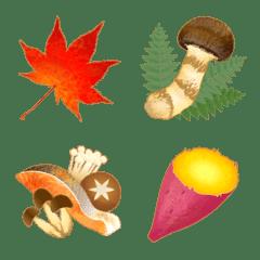 おいしい秋の絵文字