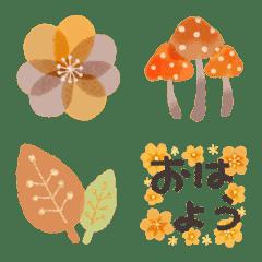 ✳︎Fleur et Fleur✳︎秋の絵文字