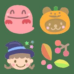 Halloween絵文字☆