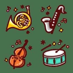 きらめく楽器の絵文字♪【40種】