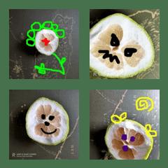 グレープフルーツの絵文字