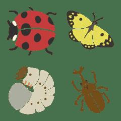 虫がいる生活(絵文字)