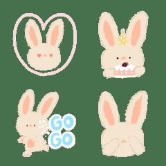 Bunny NuanNuan Emoji