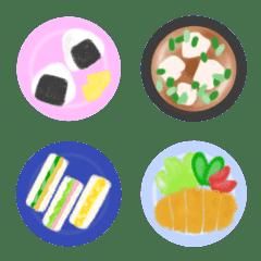 料理、食べ物、献立 絵文字