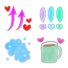 日常✩かわいい絵文字4
