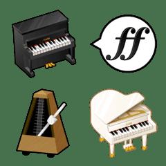 ピアノ生活絵文字