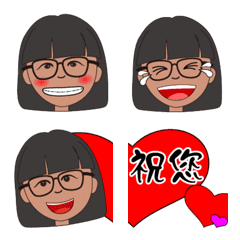 Chinese New Year face stickers-1