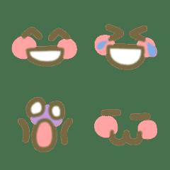 誰でも使える☆シンプルな顔の絵文字