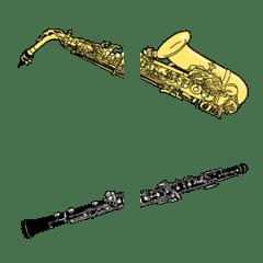 吹奏楽 楽器いろいろ