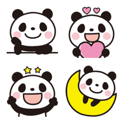 大人可愛い♡パンダの絵文字