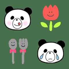 ♡ゆるいパンダの絵文字♡