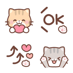 のんびりネコちゃん♡絵文字8