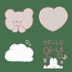 韓国風可愛い絵文字