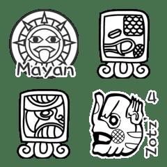 マヤ文字(Mayan)