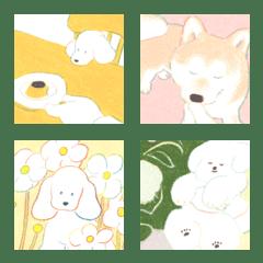 小さな犬の絵文字