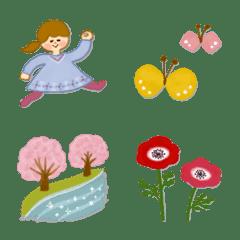 季節の絵文字【3月】