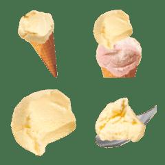 アイスクリームです バニラ