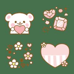 ピンクとハートとガーリー♡2写真に飾れる