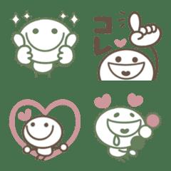 くすみカラー♡かわいい棒人間2