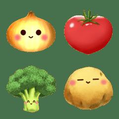 野菜の絵文字♪