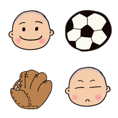 野球サッカー☆坊主頭boy