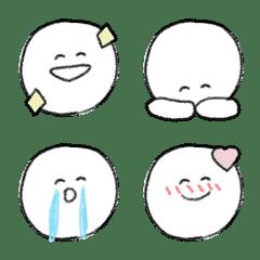 毎日使える⑨顔文字のシンプル絵文字