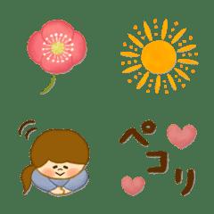 季節の絵文字【4月】