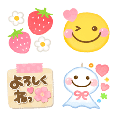 華やか♡春絵文字mix