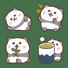 しろくろパンダ絵文字3