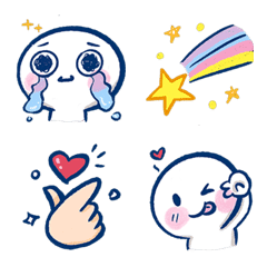 cute emoji with smile