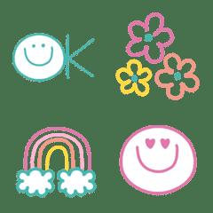 春色❤️ボールペンの文末に使いやすい文字